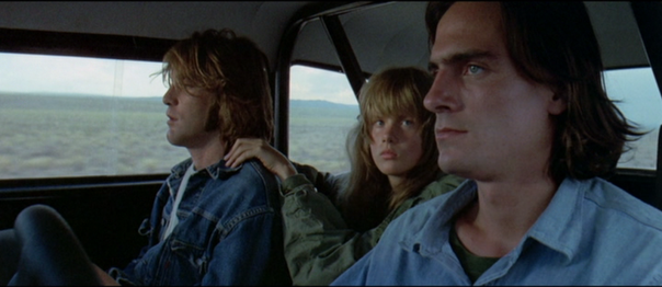 Dennis Wilson, Laurie Bird and James Taylor