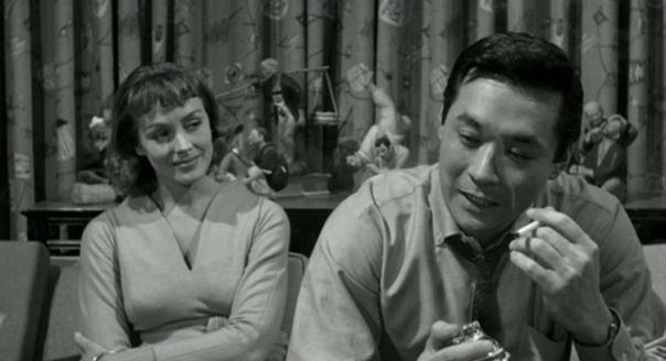 Victoria Shaw and James Shigeta