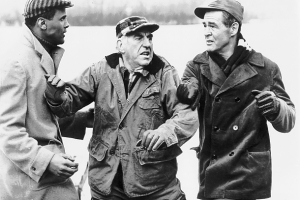 Harry Belafonte, Ed Begley and Robert Ryan