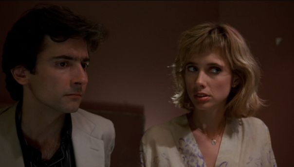 Griffin Dunne and Rosanna Arquette