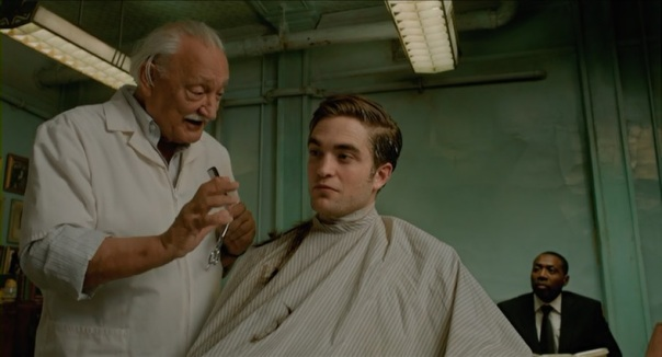 George Touliatos, Robert Pattinson and Abdul Ayoola