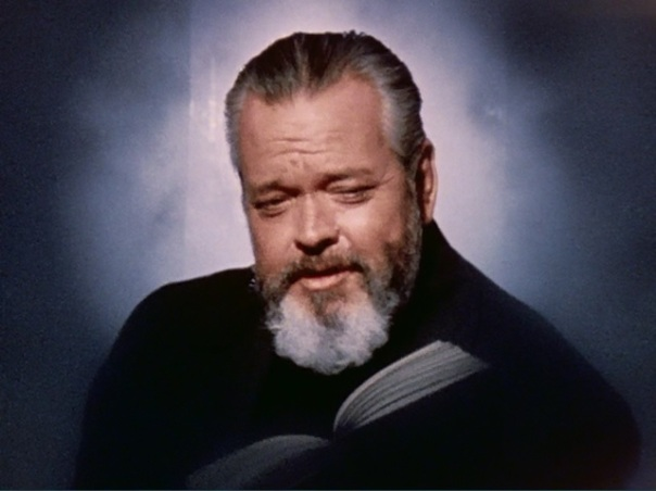 Welles reading from Moby Dick.