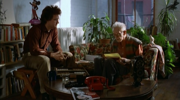 Wim Wenders and Nicholas Ray