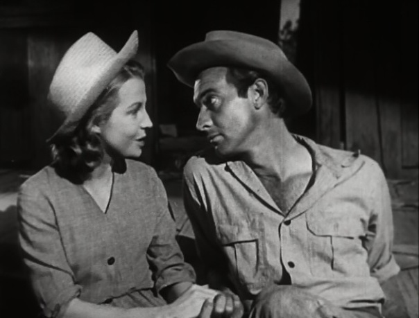 Betty Field and Zachary Scott