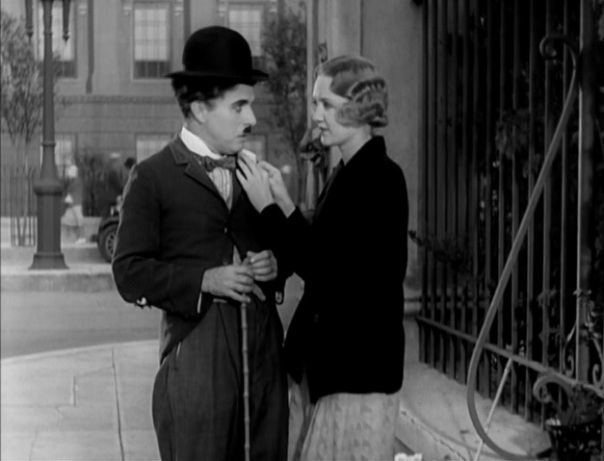Charlie Chaplin and Virginia Cherrill