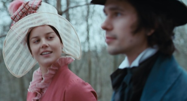 Abbie Cornish and Ben Whishaw