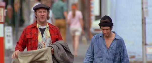 Gene Hackman and Al Pacino