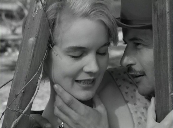 Carroll Baker and Eli Wallach